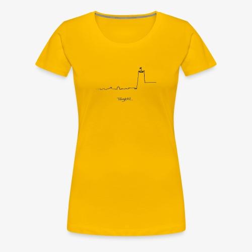 Skyline - Vrouwen Premium T-shirt