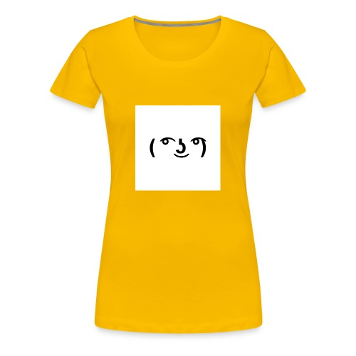 The Lenny face merch - Women's Premium T-Shirt