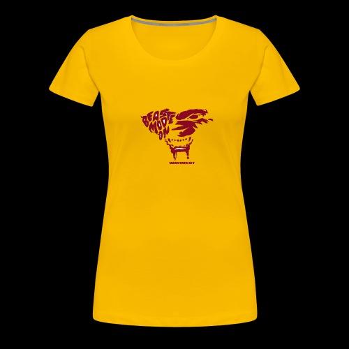 beastmode - Frauen Premium T-Shirt