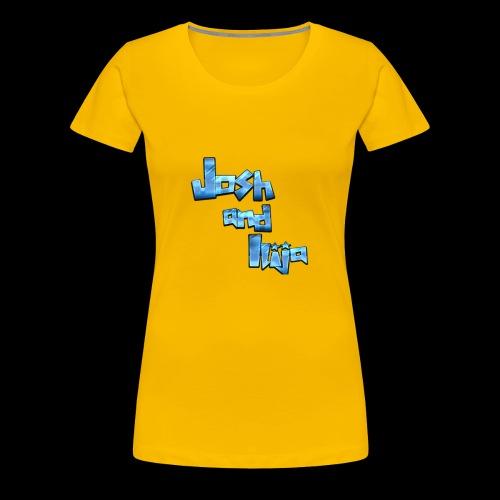 Josh and Ilija - Women's Premium T-Shirt