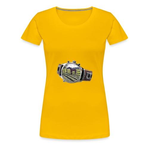 Horse in a watch - Women's Premium T-Shirt