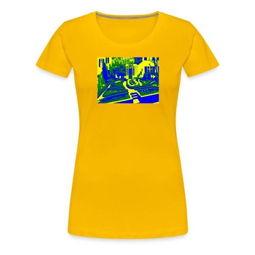 Adolf Dietrich Garten - Frauen Premium T-Shirt