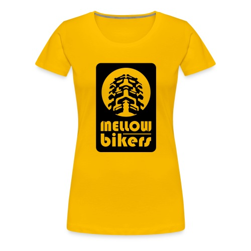 mellowbikers los - Vrouwen Premium T-shirt