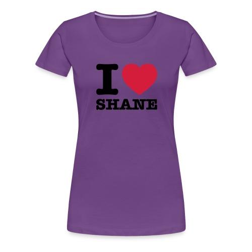 iloveshane - Frauen Premium T-Shirt