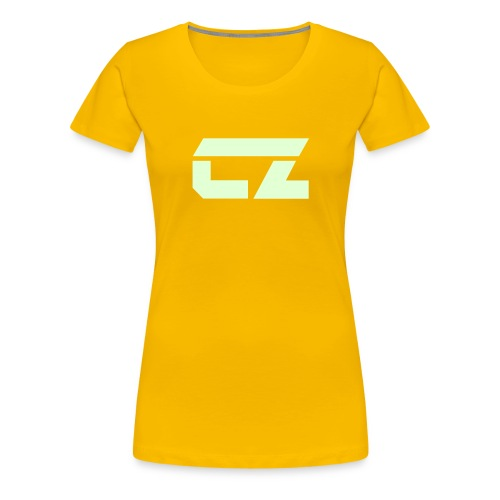 cz logo01 - Women's Premium T-Shirt