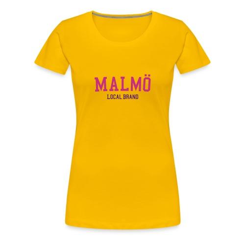 malmoe org - Premium-T-shirt dam