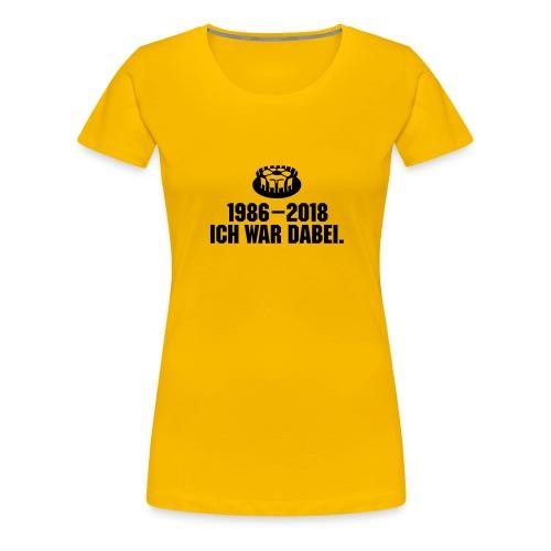 1986-2018 - Frauen Premium T-Shirt
