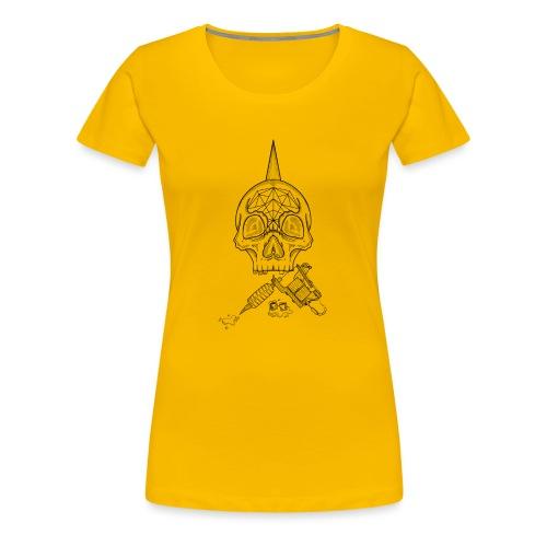 Skull tattoo - T-shirt Premium Femme