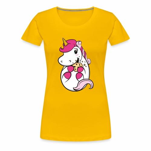 Kekseinhorn - Frauen Premium T-Shirt