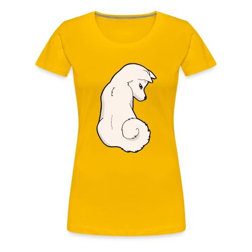 Akita bianco - Maglietta Premium da donna