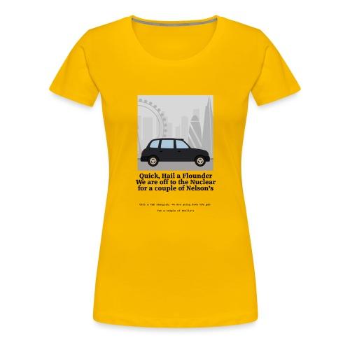 Flounder - Women's Premium T-Shirt