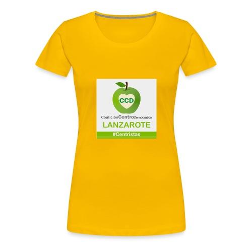 CCD LANZAROTE - Camiseta premium mujer