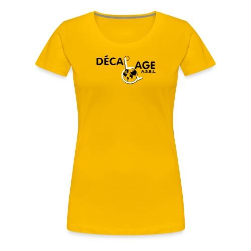 Logo vectoriel large - T-shirt Premium Femme