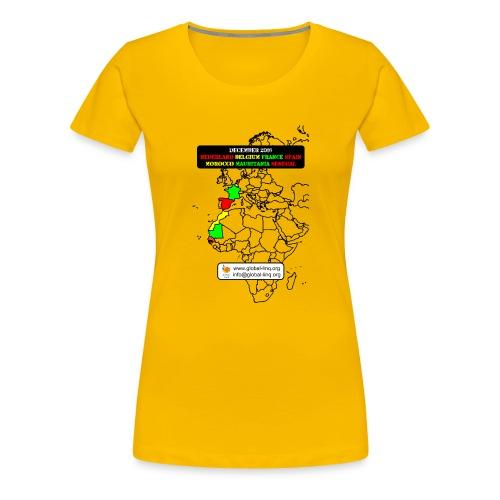 GL RR2016 shirt 0002 - Vrouwen Premium T-shirt