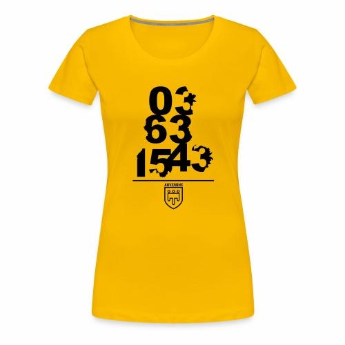 03631543 - T-shirt Premium Femme