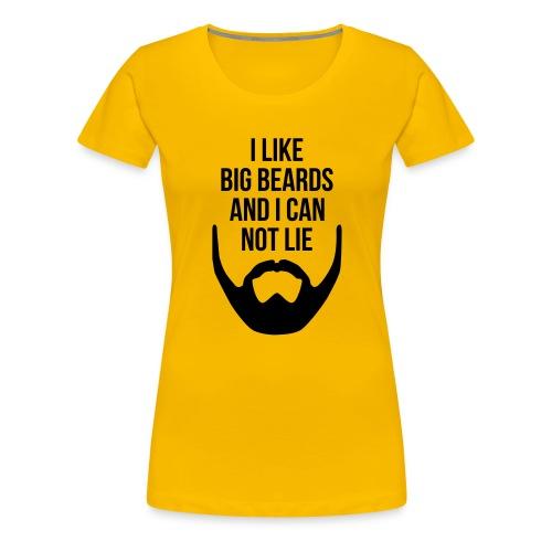 I Like Big Beards - Women's Premium T-Shirt