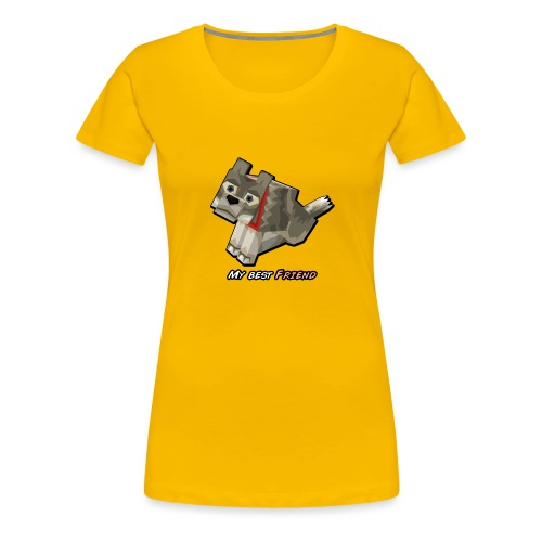 Wolf tamed - Women's Premium T-Shirt