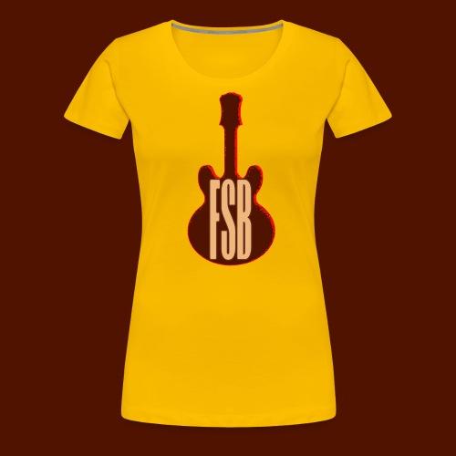 FSB Guitar Logo - Women's Premium T-Shirt