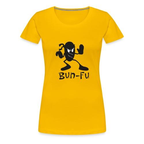 Bun fu Shadow - panino kung fu - Maglietta Premium da donna