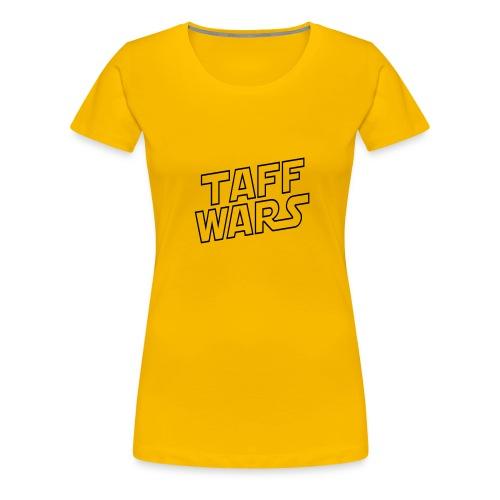 taffwars logo angle - Women's Premium T-Shirt