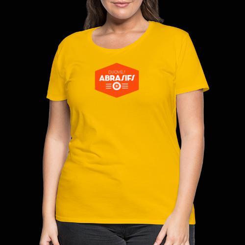 Official Disques Abrasifs Merch' - T-shirt Premium Femme