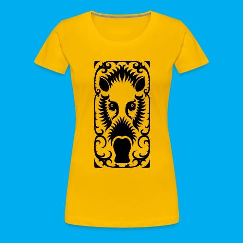 Bearded Pig - Women's Premium T-Shirt