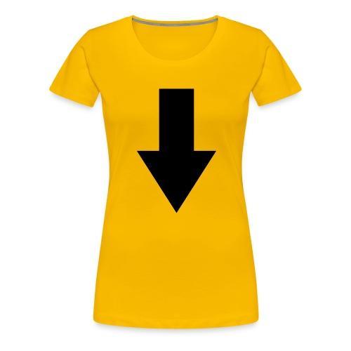 pfeil - Frauen Premium T-Shirt