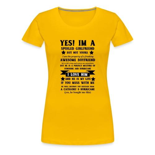Awesome Girlfriend - Women's Premium T-Shirt
