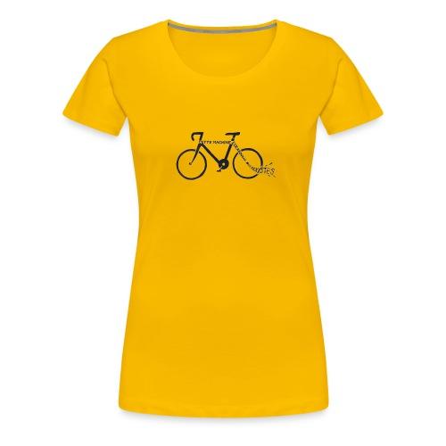 machine_écrabouille_sexis - T-shirt Premium Femme