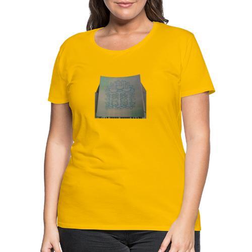 Three Ships mural, Hull - Women's Premium T-Shirt