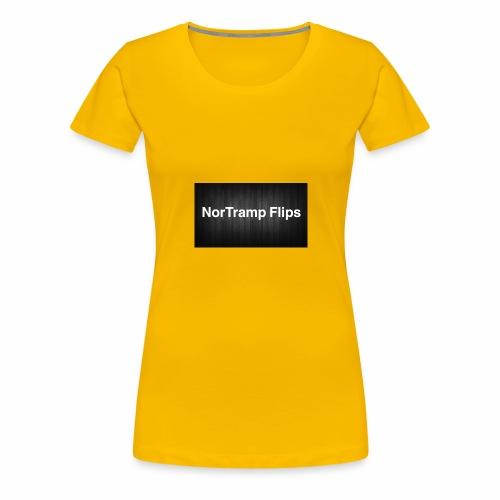 6A3090B7 6DA4 4E38 88F5 1D6678906D69 - Premium T-skjorte for kvinner
