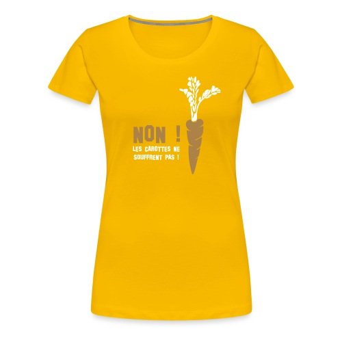carottes ai - T-shirt Premium Femme