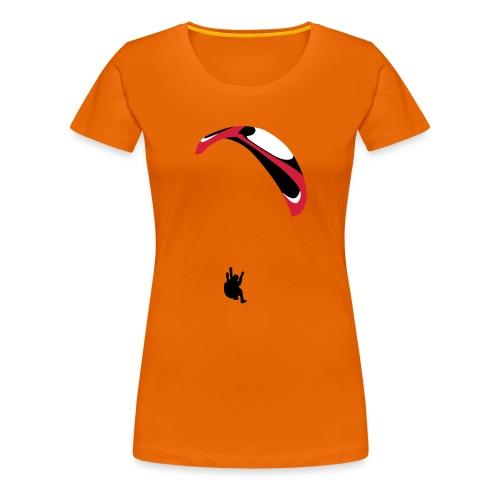 Paraglider Acro - Women's Premium T-Shirt