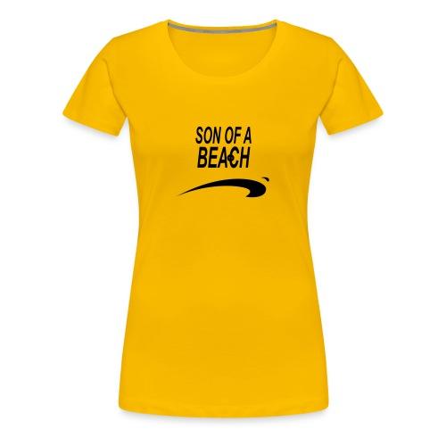 son of a beach1 - T-shirt Premium Femme