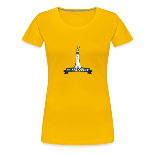 Phare ouest - T-shirt Premium Femme