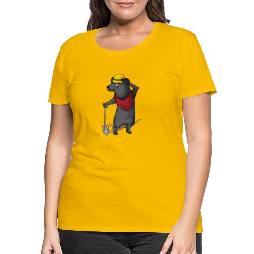 Arbeiter Ratte - Frauen Premium T-Shirt