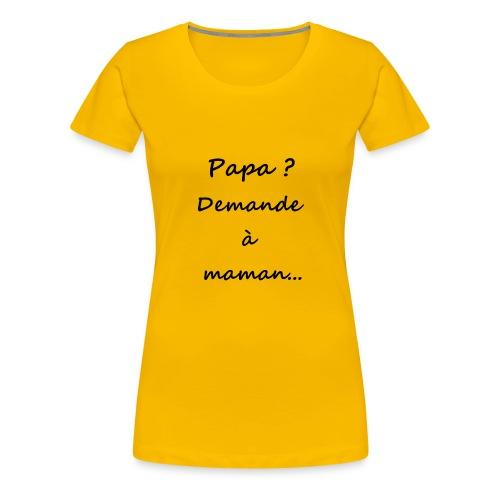 T-shirt Famille - T-shirt Premium Femme