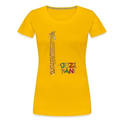Sooo groß und JUZI-Fan - Frauen Premium T-Shirt