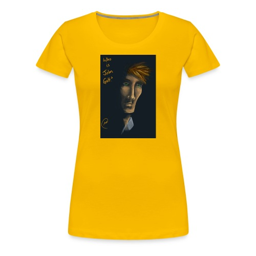 Wer ist John Galt - Frauen Premium T-Shirt