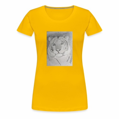 tiger art - Women's Premium T-Shirt