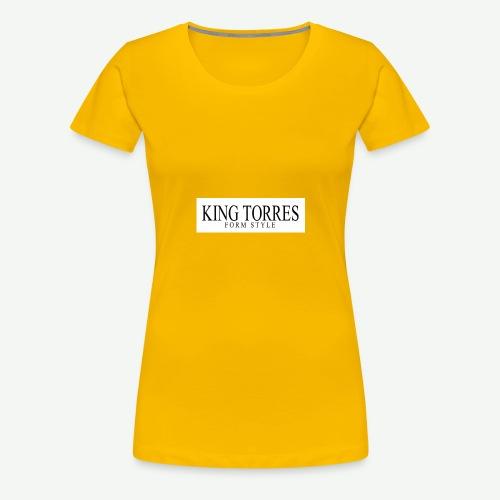 king torres - Camiseta premium mujer