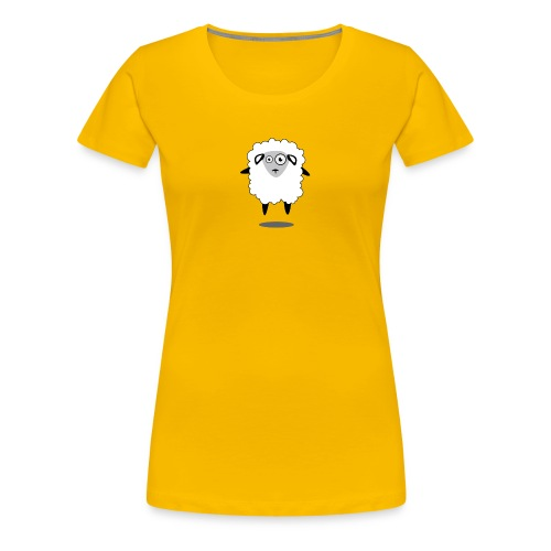 Bleet Sheep (floating) - Women's Premium T-Shirt