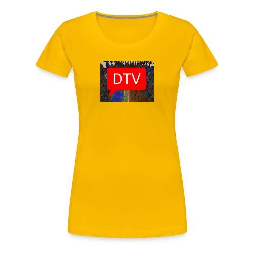 DriesTv Server - Vrouwen Premium T-shirt