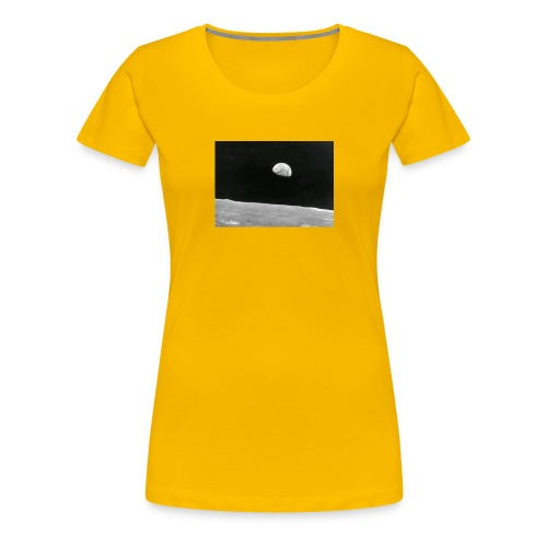 Earth from the moon - Women's Premium T-Shirt