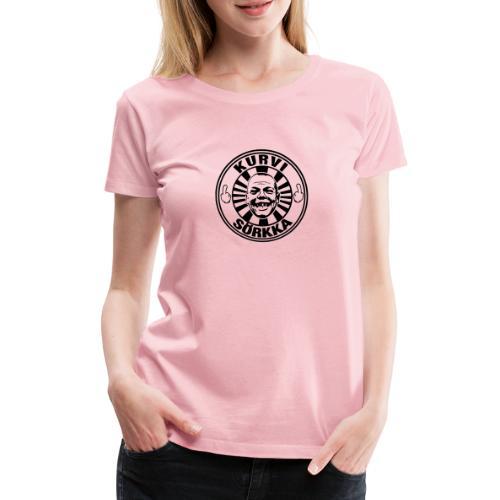 Kurvi - Sörkka - Naisten premium t-paita