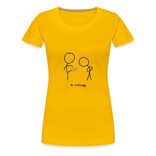 se vedlegg - Premium T-skjorte for kvinner