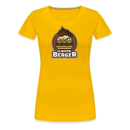 ClauZenberger BergerMan Logo - Dame premium T-shirt