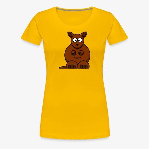 kangaroo - Maglietta Premium da donna