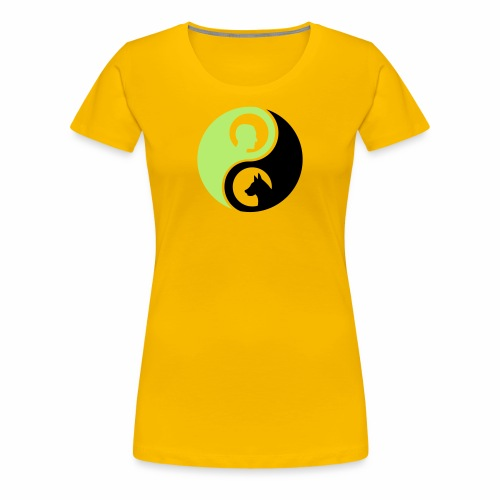 animaltraining logo - Vrouwen Premium T-shirt
