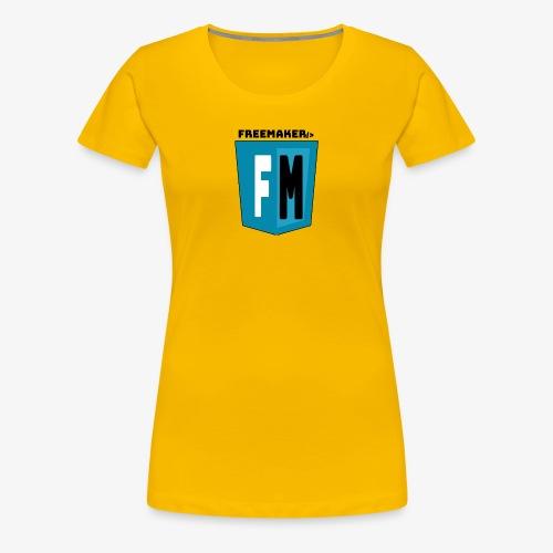 Logo Freemaker - Maglietta Premium da donna
